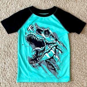 ⭐️ Jumping Beans Active Dinosaur Shirt sz 4